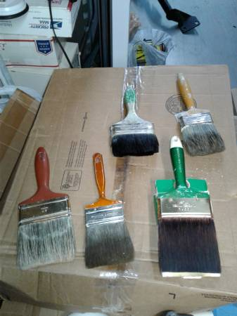 Photo 5 best paint brushes you can buy - $40 (Killeen)
