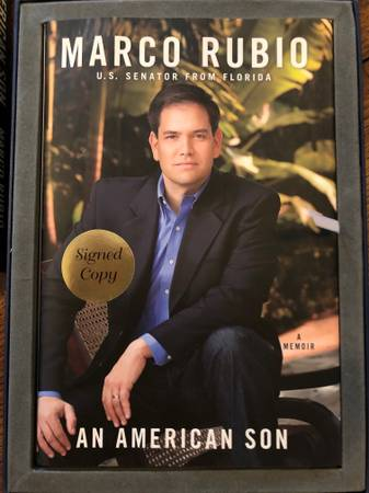 Photo An American Son MARCO RUBIO - Autographed Collector39s Limited Edition - $16 (Plano)