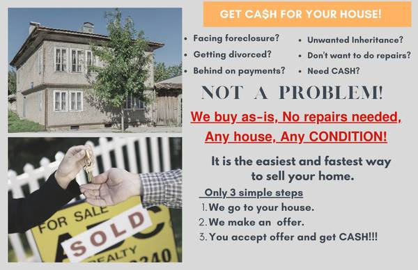 Photo Are you trying to sell your house FAST and EASY (Killeen Belton Temple)