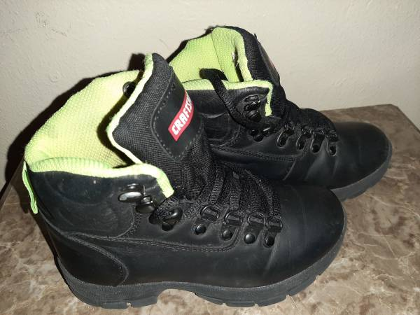 Photo Black and Neon Craftsman boots - $25 (Killeen)