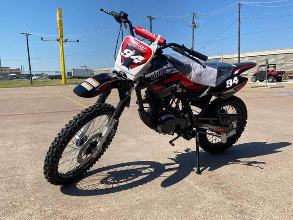 Photo Brand New RPS Viper 150cc Dirt Bike - Standard Size DB In Stock - $1,249 (161 Powersports in GRAND PRAIRIE TX NEXT TO THE NEW WALMART)