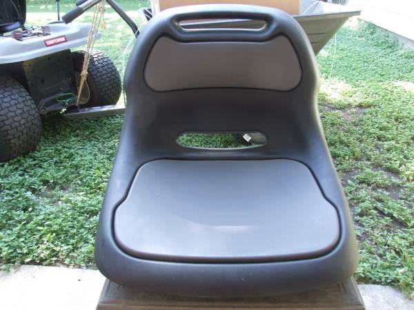 Photo Craftsman Lawn Tractor  Riding Mower High Back Seat NEW - $40 (HARKER HEIGHTS)