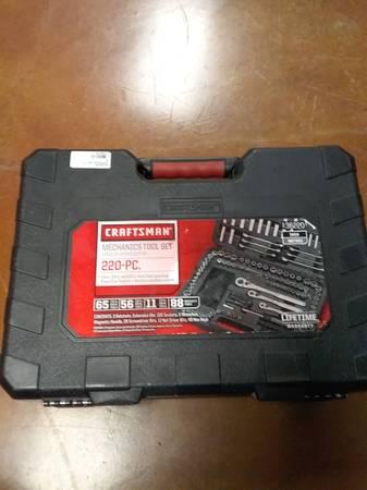Photo Craftsman tool set 220 pc - $140