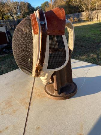 Photo Fencing Mask - $60 (Belton)