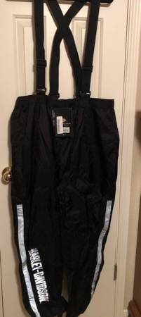 Photo Harley Davidson Riding Rain Suit Mens - $150 (Temple)