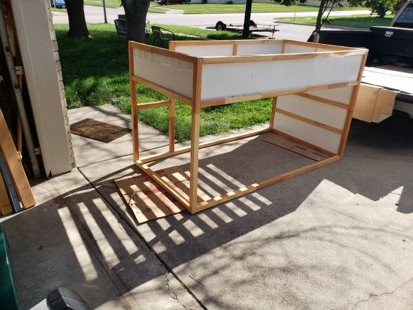 Photo Loft bed twin size great condition - $80 (Killeen)