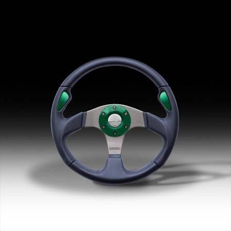 Photo MOMO Jet Cobalt Blue Steering Wheel in 350mm KM001 - $175 (San Antonio)