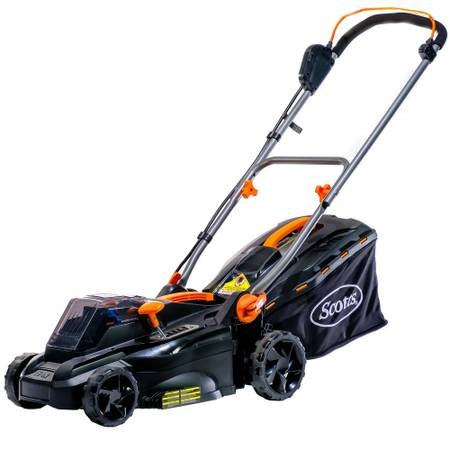 Photo NEW Scotts 20 Volt 16quot Cordless Electric Mower 4.0Ah Battery  Charger - $150 (Copperas Cove)