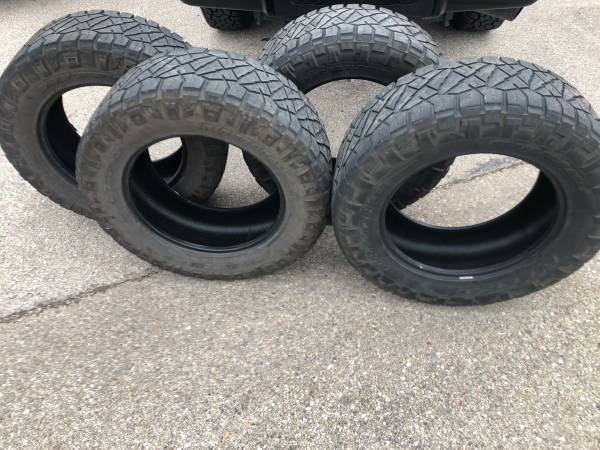Photo Nitto grappler tires - $700