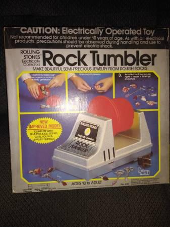 Photo Rock Tumbler - $10