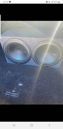 Photo Rockford fosgate , 12 inch subs, and box - $350 (Copperas cove)