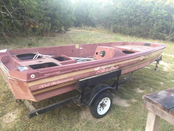 Photo Skeeter bass boat project with title FREE NO TRAILER (Kempner)