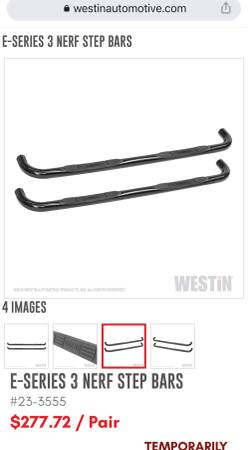 Photo Westin E-Series 3 round Black Step Bar for Dodge RAM - $150 (Georgetown)