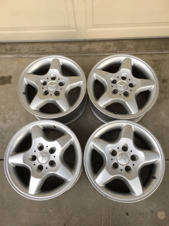 Photo 4 Mercedes 16quot Factory RimsWheels) - $100 (Lincoln, NE)