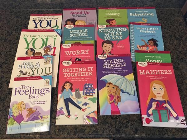 Photo American Girl Smart Girls Guide Books-Set of 15 - $40 (Columbia (Southwest))