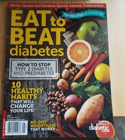Photo Better Homes and Gardens Eat to Beat Diabetes Magazine - $5 (Johnston)