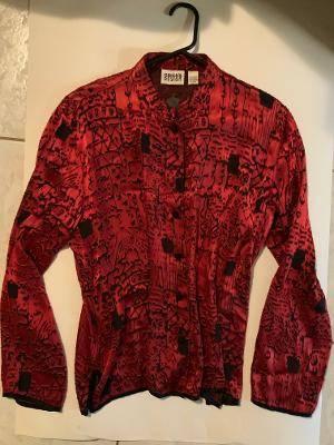 Photo Chico Cut Velvet Jacket - $8 (Windsor Heights)