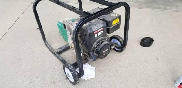 Photo Coleman Powermate 4000 watt generator - $175 (Iowa City)