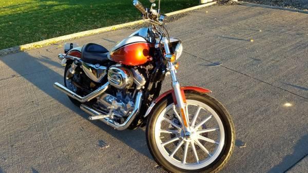 Photo Custom 2009 Harley Sportster 883 - $4,700 (Marshalltown)