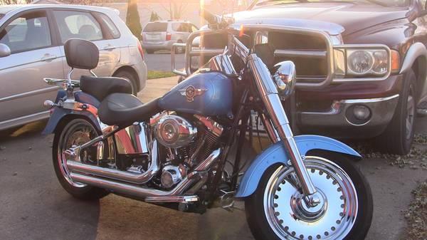 Photo For Sale 2011 Harley Davidson Fatboy - $7,500 (Toledo)