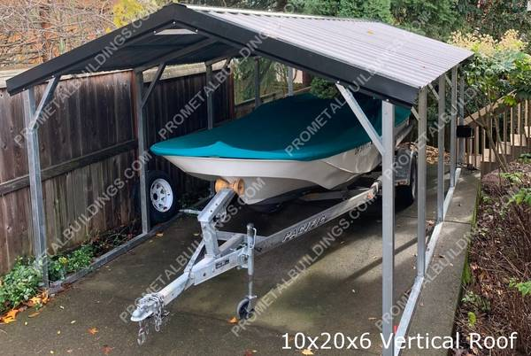 Photo Metal Boat Covers, Carports and Garages - $1,495 (and up Missouri)