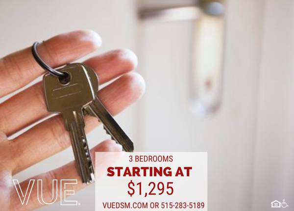 Photo Youll fall in LOVE with the VUE Lease Today - Convenient  Downtown (Des Moines)