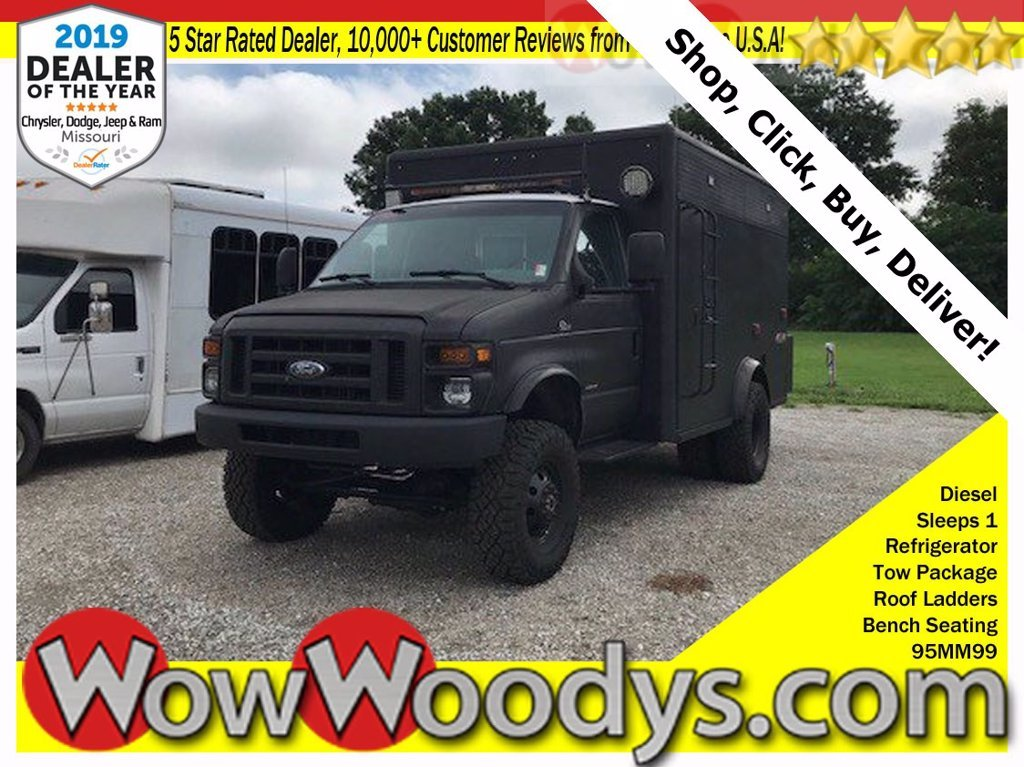 Photo 1995 Ford Econoline Ambulance Conversion Quigley 4x4 $ 36600