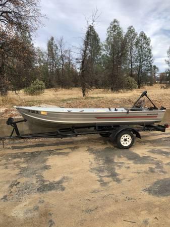 Photo 14 Sears Gamefisher aluminum fishing boat - $1,000 (Redding)
