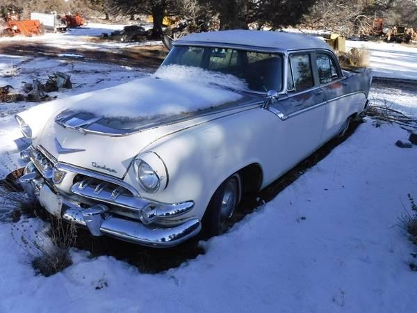 Photo 1956 DODGE CUSTOM REGAL 4-DOOR - $1,500 (LOOKOUT)