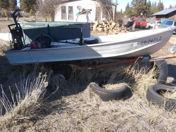 Photo 1972 Sea King 1239 Aluminum boat - $400 (Chiloquin)