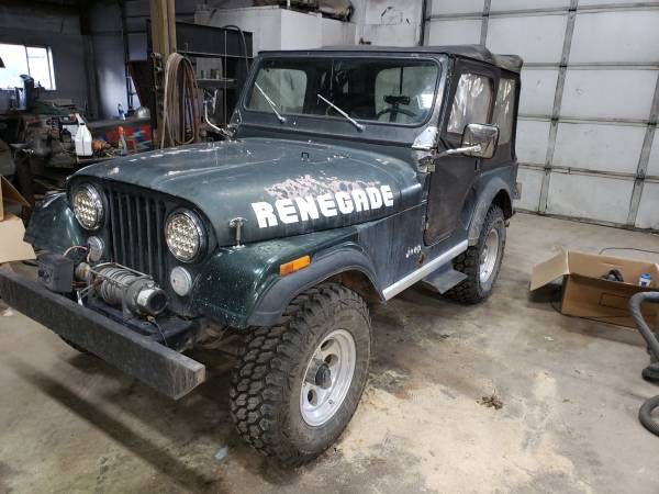 Photo 1983 AMC cj5 jeep - $4500 (Canby)