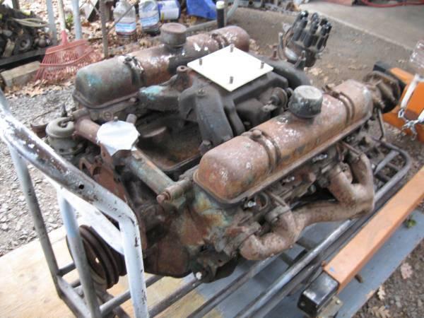 Photo Buick Nailhead Engine  Trans (s-oregon)