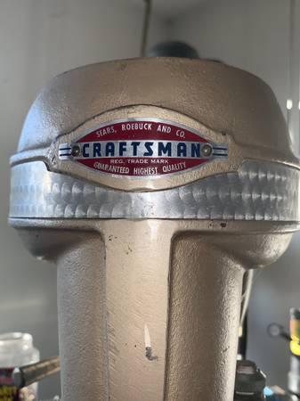 Photo Craftsman drill press - $650 (Klamath falls)