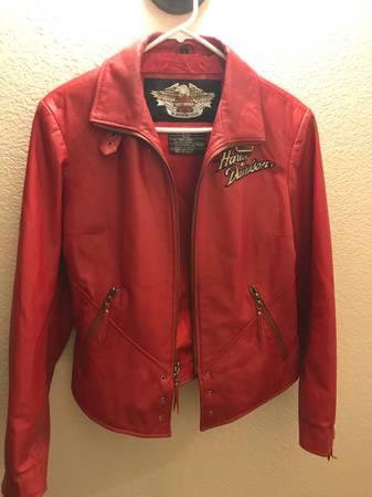 Photo Harley Davidson Womens Leather Jacket - $150 (Grants Pass)