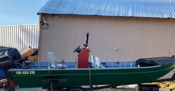 Photo Jet Sled for Sale-- 1639 Jet Boat Fishing Package - $6,500 (GP)
