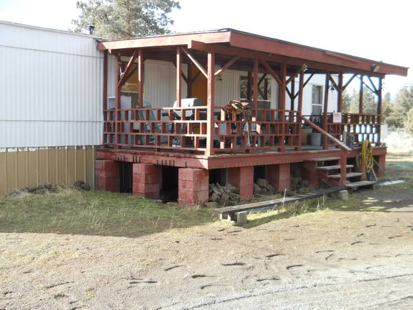 Photo MFG home in Macdoel on 1 Acre (Macdoel, Red Rock Road)