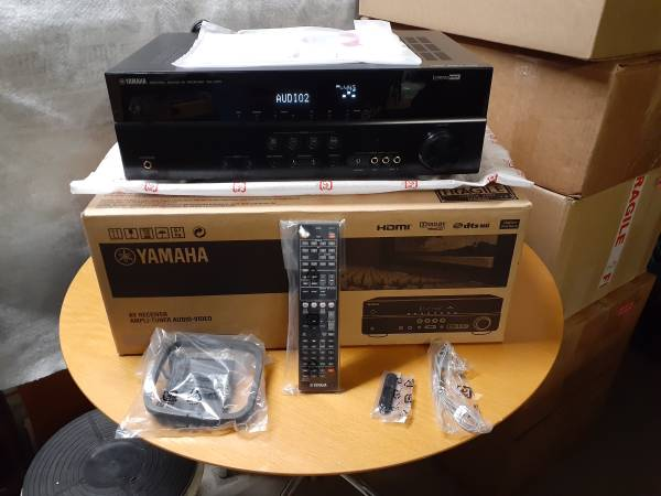 Photo NEW Yamaha RX-V371 HDMI AV Stereo Receiver in the box - $120 (Grants Pass)