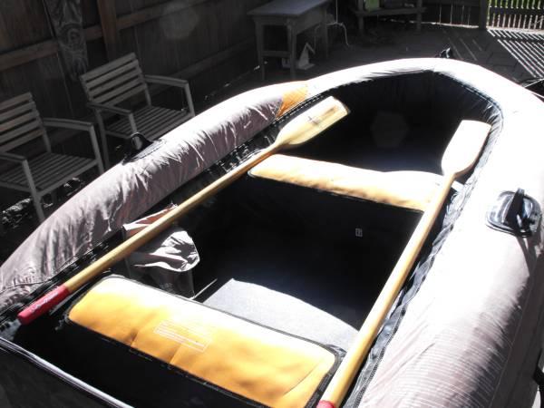 Photo Zodiac style Hardbottom inflatable - $325 (NW Bend)