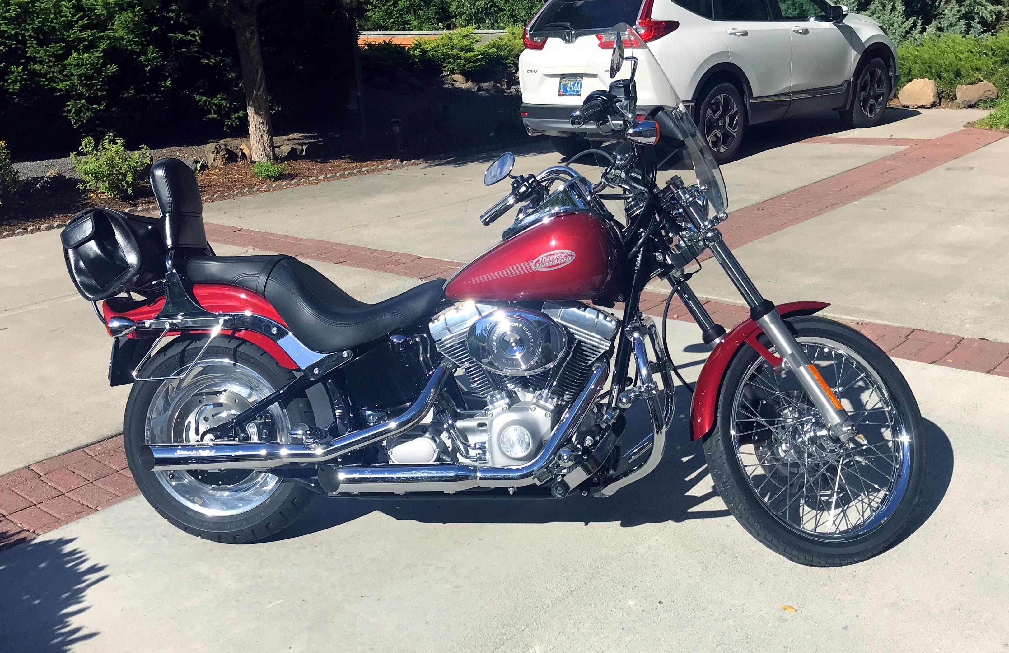 Photo Used 2006 Harley-Davidson Custom Motorcycle  $8150