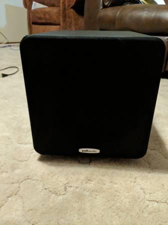 Photo polk audio subwoofer - $150 (Redding)