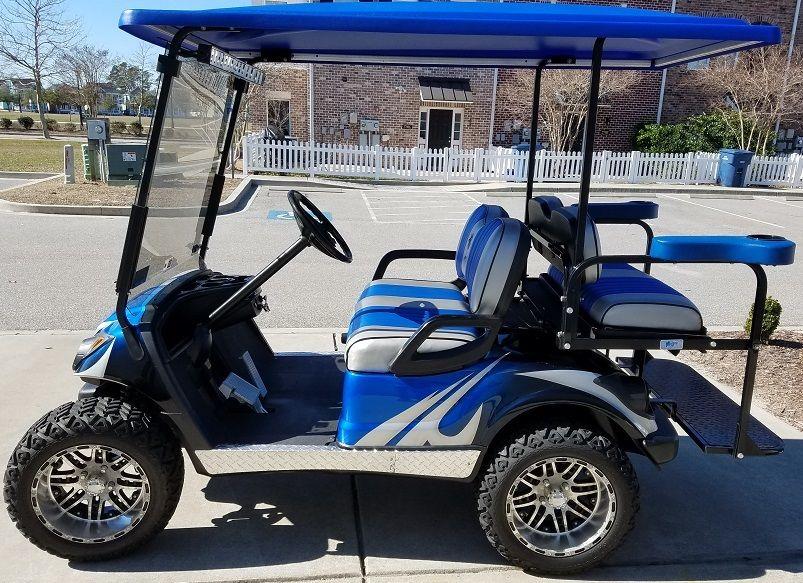 Photo Used-2012 Yamaha G-29 Golf Cart