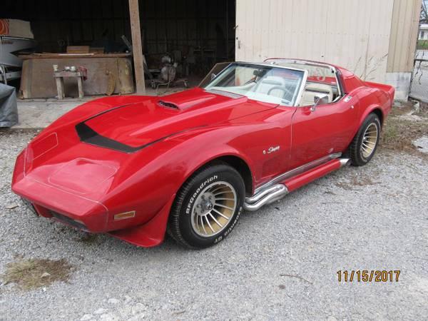 Photo 1974 Chevrolet Corvette - $12500 (Kingston, Tm)