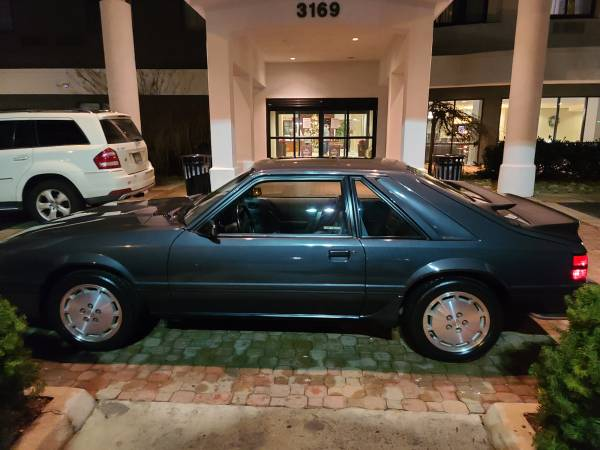 Photo 1984 FORD MUSTANG SVO MSO NEVER TITLED - $18,500 (Knoxville)