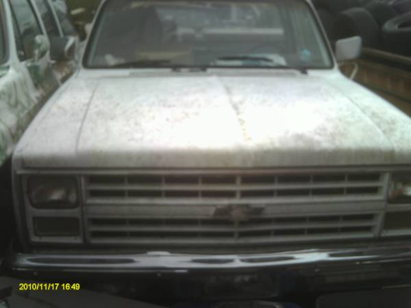 Photo 1985 CHEV C-20 FARM TRUCK PROPANE POWERED - $2,500 (DELANO)