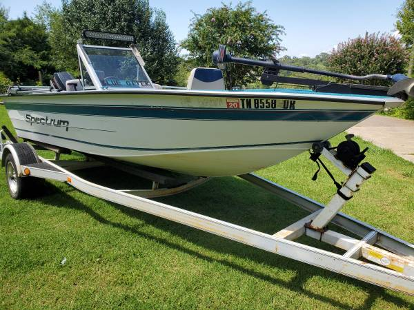 Photo 1995 deep Vee welded aluminum hull 16 foot boat - $5,995 (loudon)