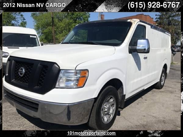 Photo 2012 NISSAN NV CARGO 2500 HD S V6 101 MOTORSPORTS - $9,442 ( Nissan NV CARGO 101 MOTORSPORTS, NASHVILLE, TN)