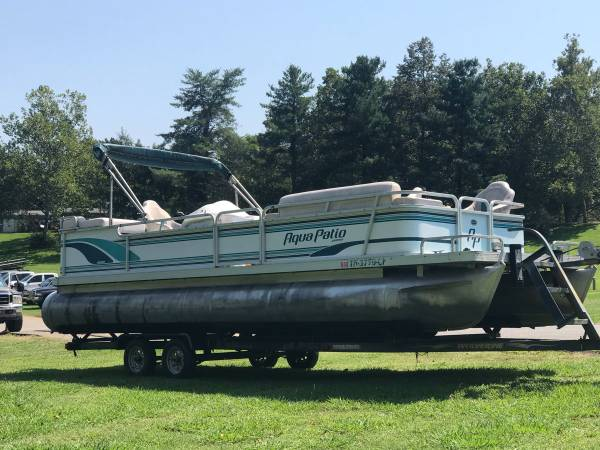 Photo 24 Pontoon Boat with Trailer - $7,500