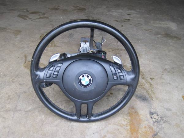 Photo BMW OEM Steering Column and Airbag with 2 keys - $300 (Knoxville)