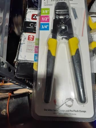 Photo Baby stuff. Plumbing tools wiring trim 20 ft 4 inch pvc (Elizabethton)