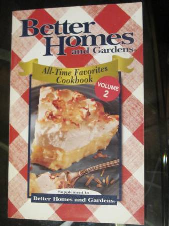Photo Better Homes and Gardens All-Time Favorites Cookbook Volume 2 - $12 (Knoxville)